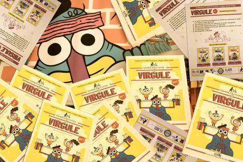 Petits Francophones, un support pédagogique de la collection Virgule