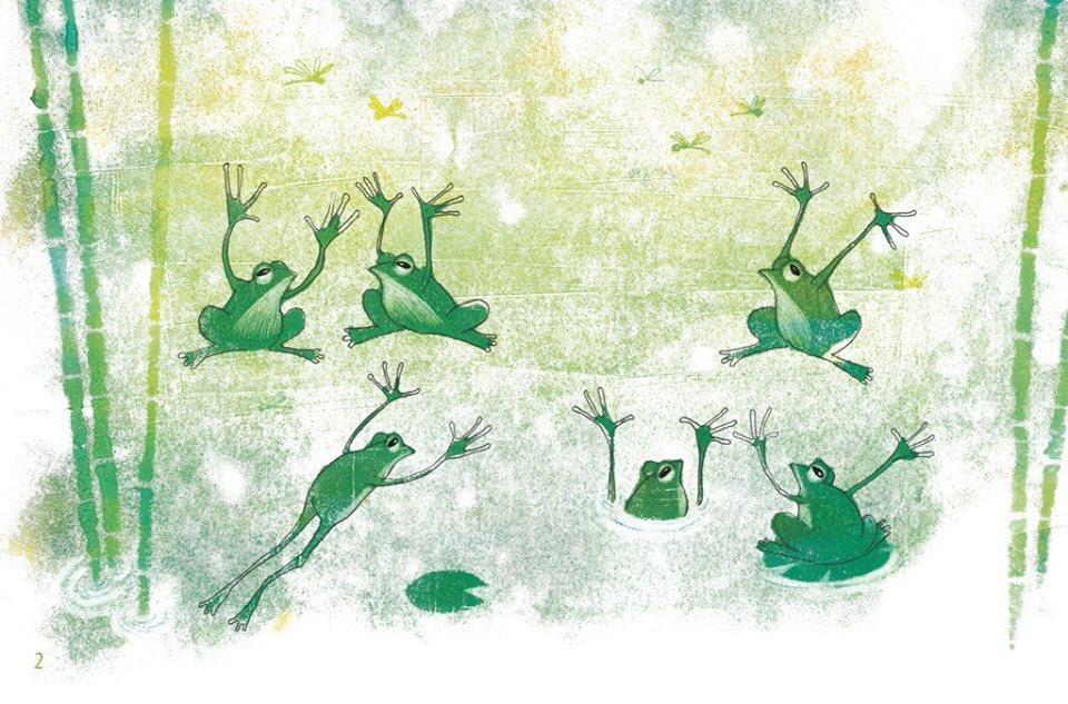 «CRÔÔÔAAA ?» Histoires de grenouilles